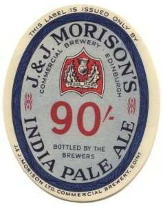 IPA Morison's_India_Pale_Ale_label