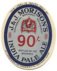 IPA Morison's_India_Pale_Ale_label