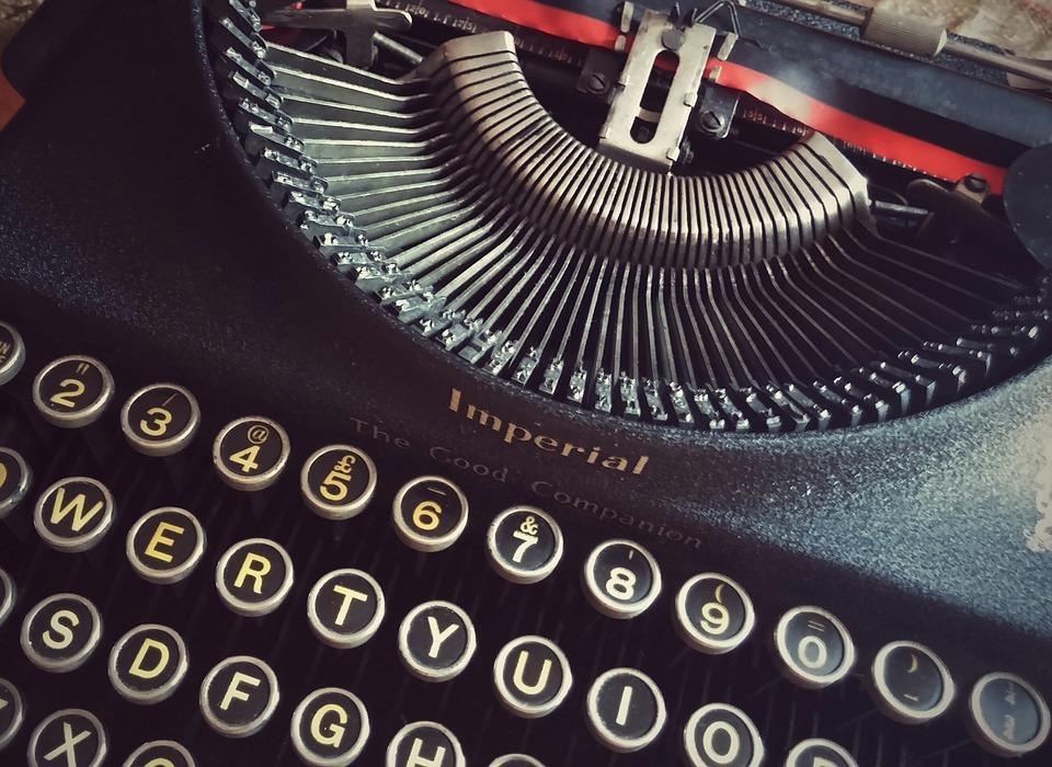 Book Author Type Writing Read Font Typewriter