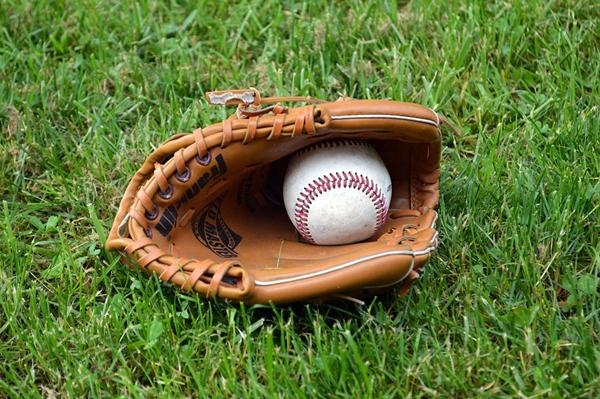 Baseball Sport Ball Mitt Glove Leather Play