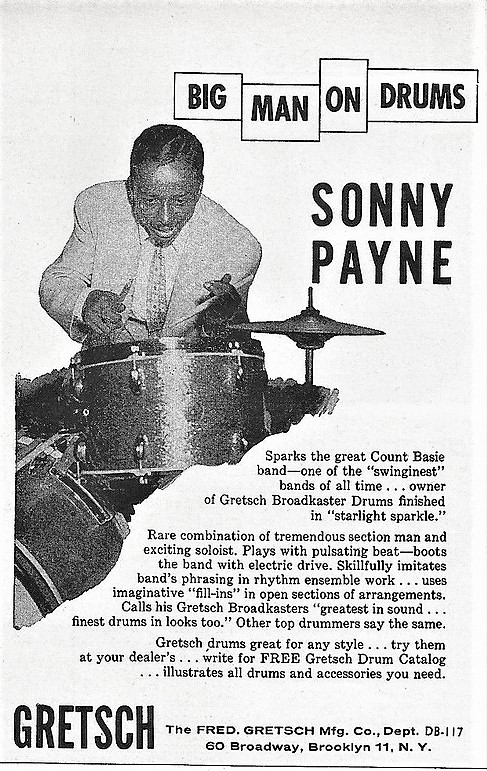 Ella Fitzgerald Sonny Payne Ad 0
