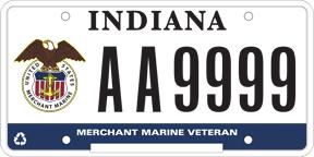 License Plate Veteran