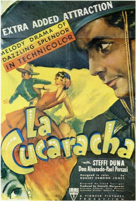 Technicolor LaCucaracha1934