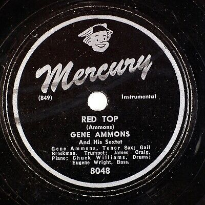 Red Top Gene Ammons label