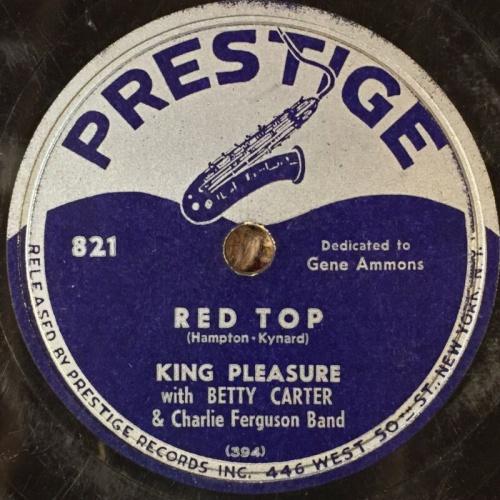 Red Top King Pleasure Prestige Reduced
