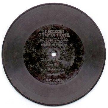 Audio Format Wars BerlinerDisc1897