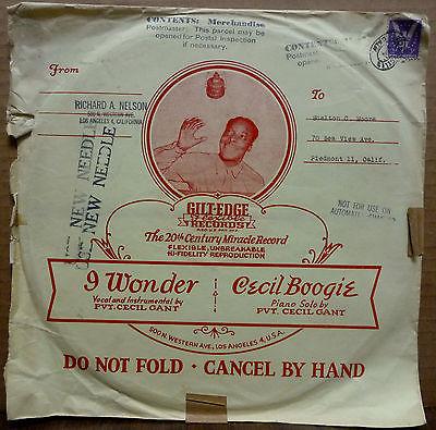 Cecil Gant Mail Sleeve